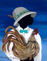 <h5>Feather in the hat 4x6 refrigerator magnet signed  shipping and handling included </h5><p>$11.99</p>