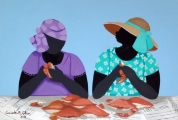 <h5>Eating crabs 4x6 refrigerator magnet signed shipping and handling included </h5><p>$11.99</p>