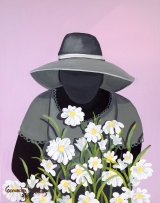<h5>My flowers now 4x6 refrigerator magnet signed shipping and handling included </h5><p>$11.99</p>